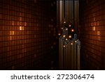 light abstract technology... | Shutterstock .eps vector #272306474