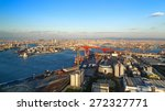 osaka bay industrial district... | Shutterstock . vector #272327771