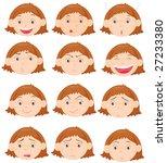 an illustration of twelve... | Shutterstock . vector #27233380