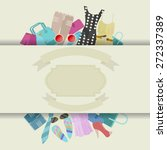 clothes icons  | Shutterstock .eps vector #272337389