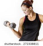 Strong Beautiful Fitness Woman...