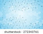 abstract background medical... | Shutterstock .eps vector #272343761
