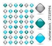 vector beautiful icon set. ... | Shutterstock .eps vector #27235996