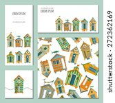Set Of 4 Universal Cards With...
