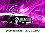 illustration of a black car...   Shutterstock . vector #27236290