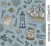 seamless sea. | Shutterstock .eps vector #272364191