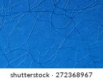 blue leather texture for... | Shutterstock . vector #272368967