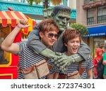 sentosa universal studios ... | Shutterstock . vector #272374301