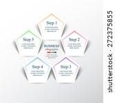 template for diagram  graph ... | Shutterstock .eps vector #272375855