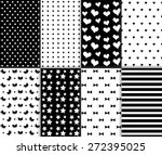 set of cool abstract seamless...