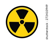 the radiation icon. radiation... | Shutterstock .eps vector #272410949