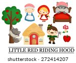 little red riding hood | Shutterstock .eps vector #272414207