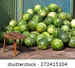 Bunch Of Ripe Watermelon....
