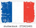 Grunge France Flag.french Flag...
