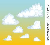 clouds in the sky. | Shutterstock .eps vector #272431919