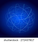 abstract technology circuit... | Shutterstock . vector #272437817
