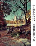 central park autumn and...   Shutterstock . vector #272444549