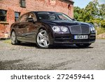 Постер, плакат: Bentley Flying Spur V8