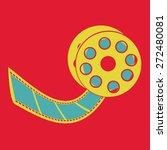 cinema design  vector... | Shutterstock .eps vector #272480081
