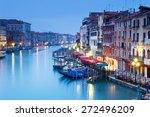 Grand Canal From Rialto Bridge...