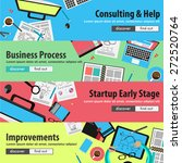 flat design concepts for mobile ... | Shutterstock .eps vector #272520764
