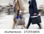 abstract image of business... | Shutterstock . vector #272553854