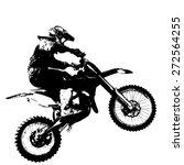 rider participates motocross... | Shutterstock .eps vector #272564255