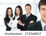 business  partnership ... | Shutterstock . vector #272568827