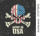 made in the usa stamp. | Shutterstock .eps vector #272573651