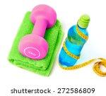diet and sport | Shutterstock . vector #272586809