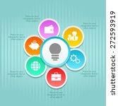 business template. vector... | Shutterstock .eps vector #272593919