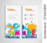 summer banners business of... | Shutterstock .eps vector #272622809