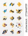paper graphics infographic web... | Shutterstock .eps vector #272646959