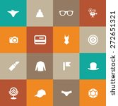 accessories icons universal set ... | Shutterstock .eps vector #272651321