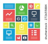 analytics  research icons...   Shutterstock .eps vector #272655884