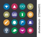 accessories icons universal set ... | Shutterstock .eps vector #272666351