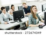 students in the classroom | Shutterstock . vector #272674349