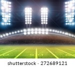 lights at night and stadium  | Shutterstock . vector #272689121