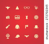 accessories icons universal set ... | Shutterstock .eps vector #272702345