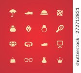 accessories icons universal set ... | Shutterstock .eps vector #272712821