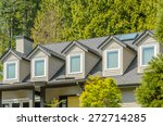 the roof of the house with nice ... | Shutterstock . vector #272714285