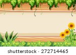 Sunflower And Plants Design...
