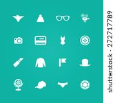 accessories icons universal set ... | Shutterstock .eps vector #272717789