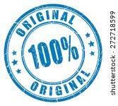 100 original vector stamp | Shutterstock .eps vector #272718599