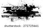splatter paint texture .... | Shutterstock .eps vector #272725661