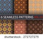seamless vector pattern.... | Shutterstock .eps vector #272727275