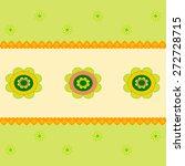 flower vectors  flower card | Shutterstock .eps vector #272728715