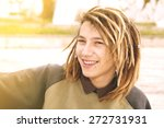 lifestyle portrait of a young... | Shutterstock . vector #272731931