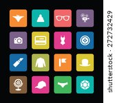 accessories icons universal set ... | Shutterstock .eps vector #272732429