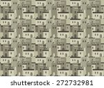 arab houses pattern